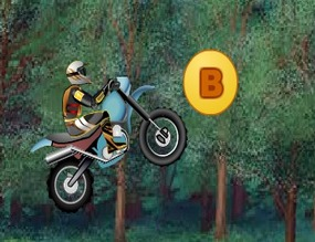 Game-with-a-motocross-course