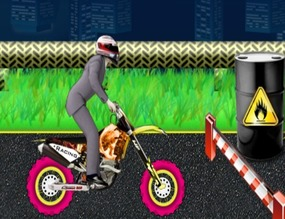 Game-with-a-motocross-stunts