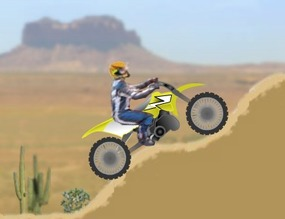 Motocross-game