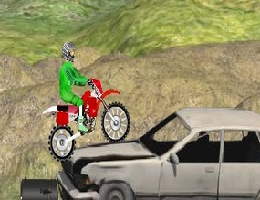 Motocross-rally