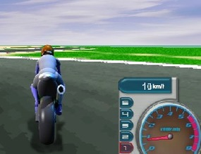 Motorcycle-game-against-the-clock