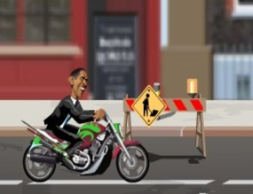 Motorcycle-game-with-barack-obama