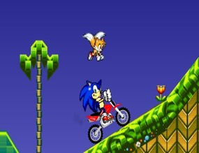 Motorcycle-game-with-sonic