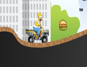 Playing-with-homer-simpson