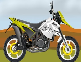 Set-of-tuning-with-a-ktm-690sm-st