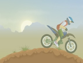 Steering-motocross-game