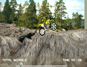 Trial-on-rocks