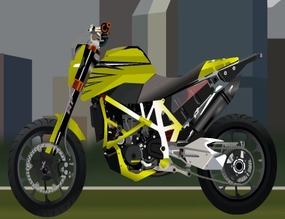 Tuning-with-a-ktm-stunt