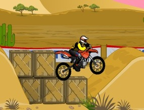 Motocross-acrobatique